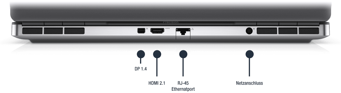 Dell-Precision-7560-Anschlusse-Hinten