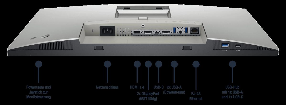 Dell-UltraSharp-U2421E-Anschlusse