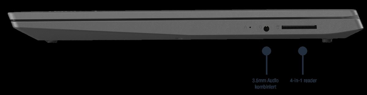 Lenovo V15-IWL Notebook Anschlüsse