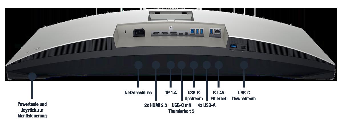 Dell-UltraSharp-U3421WE-Anschlusse