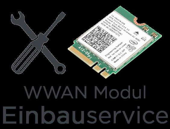 Laptop WWAN Modul Installations- und Einbauservice ✅