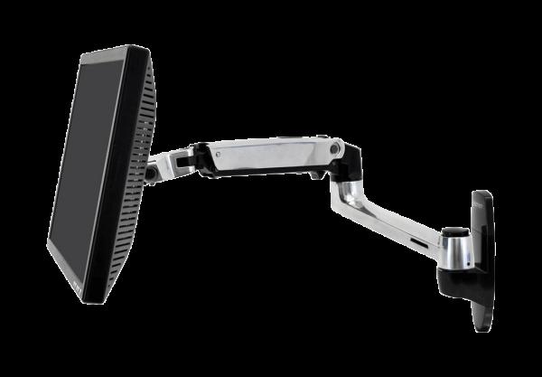 LX Monitor Arm, Wandhalterung (aluminum) 45-243-026 | lap4worx.de