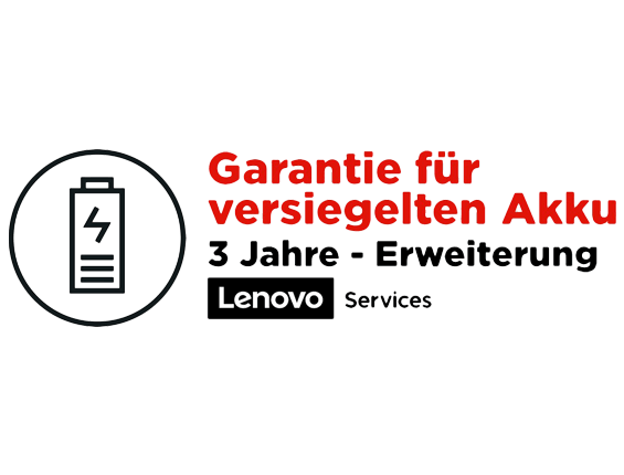 Lenovo 3 Jahre Sealed Battery Service 5WS0L01988 | wunderow IT GmbH | lap4worx.de