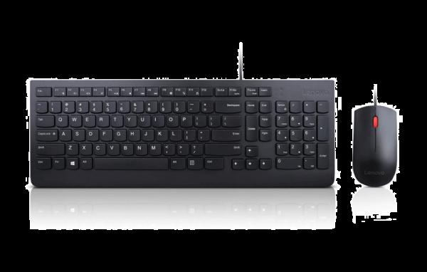 Lenovo Essential kabelgebundenes Tastatur und Maus Set 4X30L79897 | wunderow IT GmbH | lap4worx.de