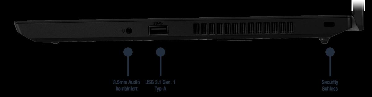Lenovo ThinkPad L490 Anschlüsse