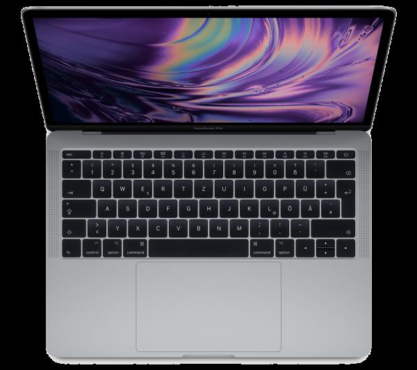 "Apple 13"" MacBook Pro Space Grau MPXQ2D/A"