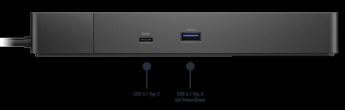 Dell-Dock-WD19S180W-Anschlusse-Bild01