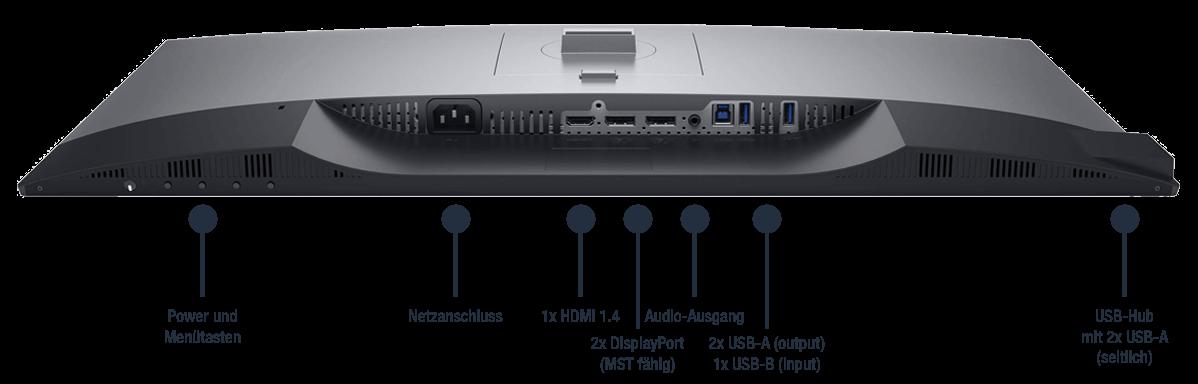 Dell-UltraSharp-27-Monitor-U2719D-Anschlusse