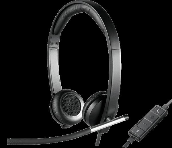 Logitech H650E HEADSET Stereo 981-000519   wunderow IT GmbH   lap4worx.de