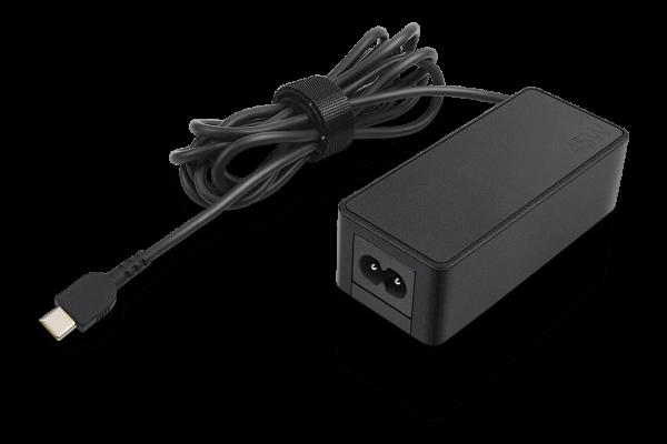 Lenovo 45 Watt AC Adapter USB Typ-C 4X20M26256 | wunderow IT GmbH | lap4worx.de