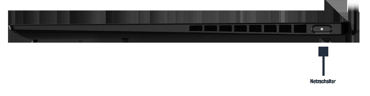 Lenovo ThinkPad X1 Nano Gen 1 Anschlüsse
