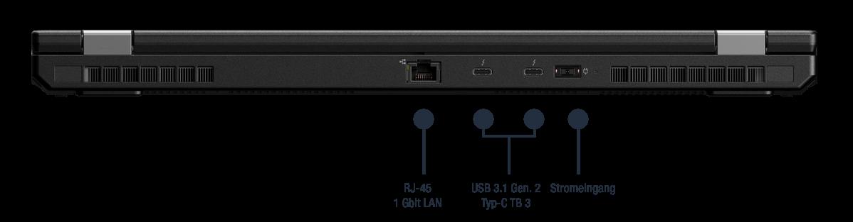 Lenovo ThinkPad P53 Anschlüsse
