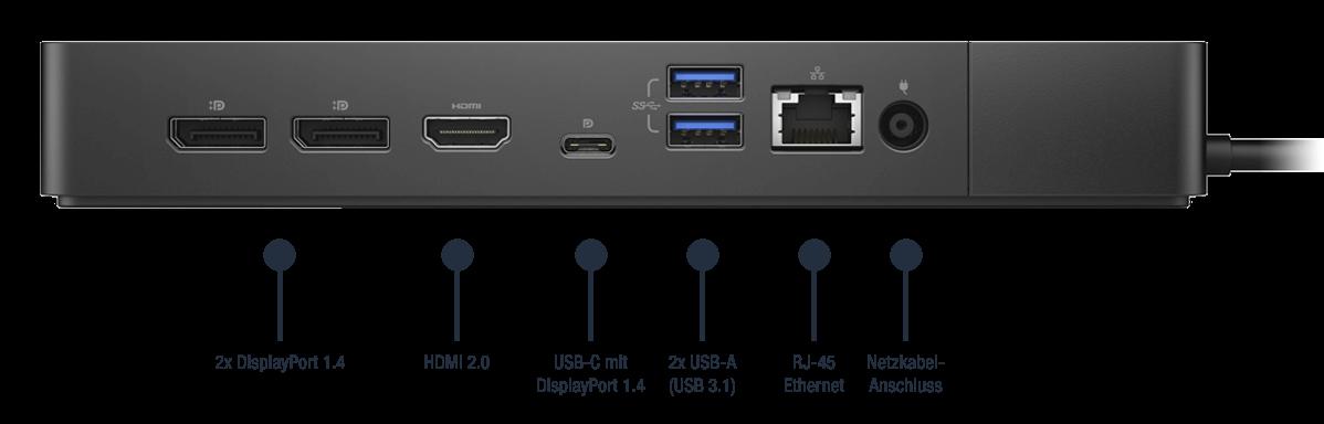 Dell-Dock-WD19DCS-Anschlusse-Bild02