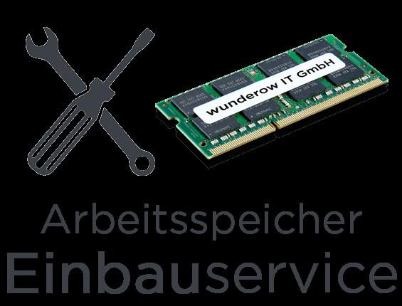 Laptop Arbeitsspeicher RAM Installations- und Einbauservice ✅