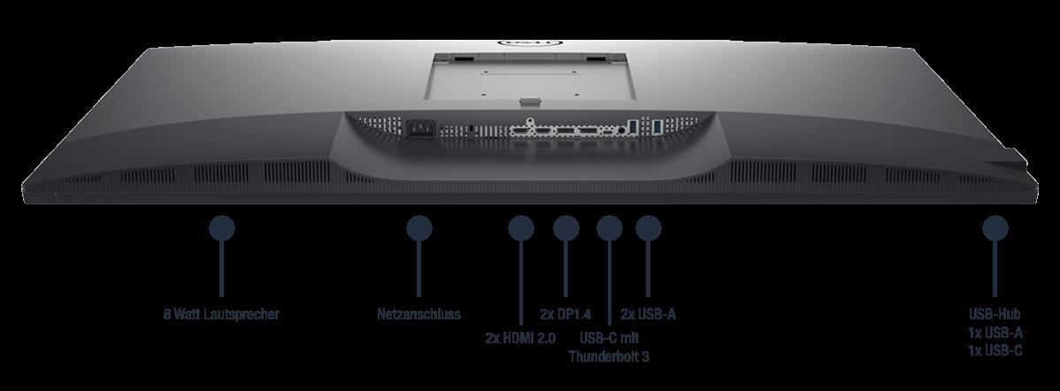 Dell-UltraSharp-U4320Q-Anschlusse