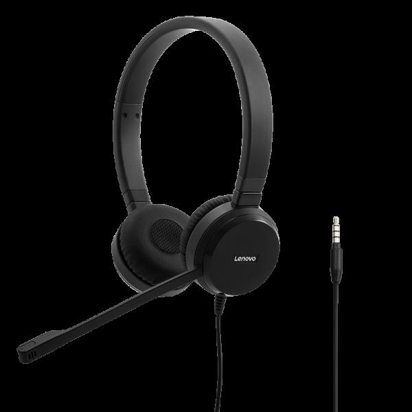 Lenovo Pro kabelgebundenes Stereo VoIP Headset 4XD0S92991 | wunderow IT GmbH | lap4worx.de