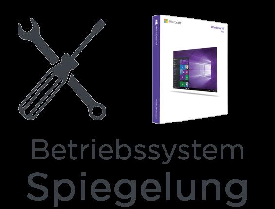 Laptop Betriebssystem Spiegelung Service