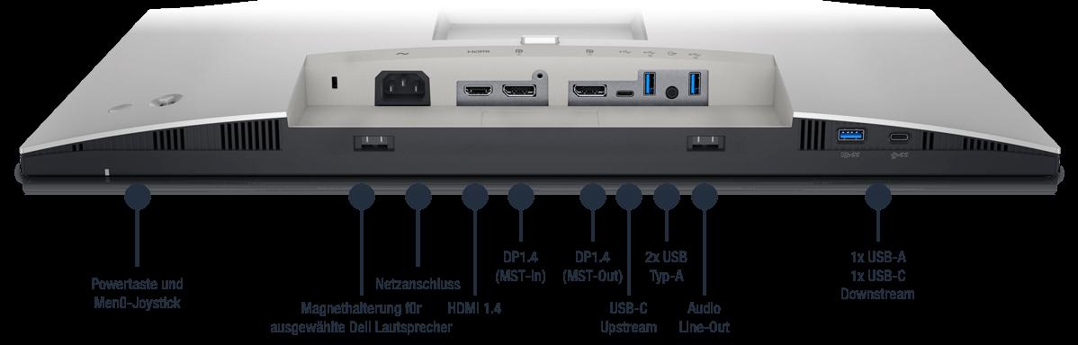 Dell-UltraSharp-U2422H-Anschlusse