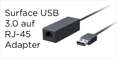 Microsoft Surface USB 3.0 auf Gigabit Ethernet Adapter