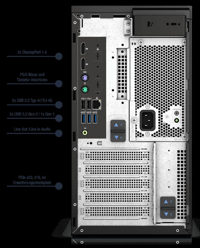 Dell-Precision-3650-MT-Anschlusse01