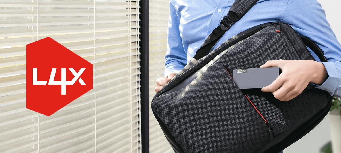 Der Lenovo Powered USB-C Travel Hub 4X90S92381 ist handlich und leicht