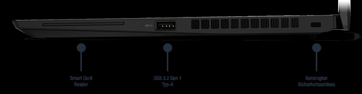 Lenovo-ThinkPad-X13-Gen-2-AMD-Schwarz-Anschlusse-Rechts