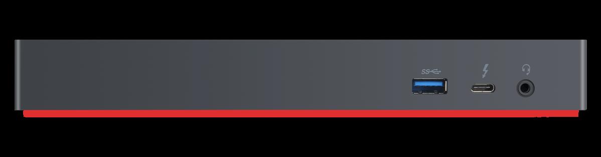 Lenovo ThinkPad Thunderbolt 3 Workstation Dock Anschlüsse