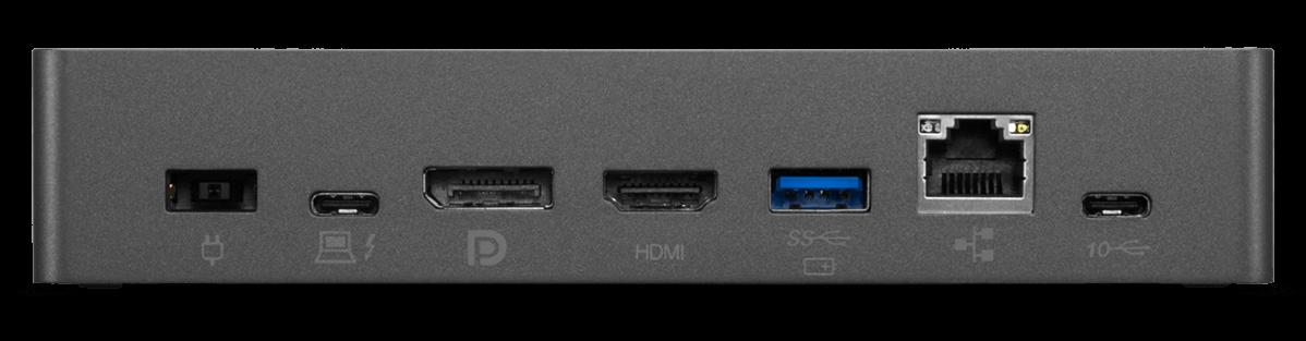 Lenovo Thunderbolt 3 Essential Dock Anschlüsse