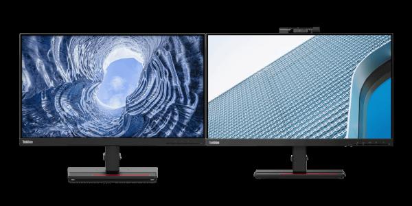 Lenovo ThinkVision Monitor Bundle - T24v-20 mit Kamera und T24i-20 | wunderow IT GmbH | lap4worx.de