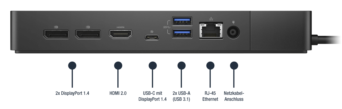 Dell-Dock-WD19S180W-Anschlusse-Bild02