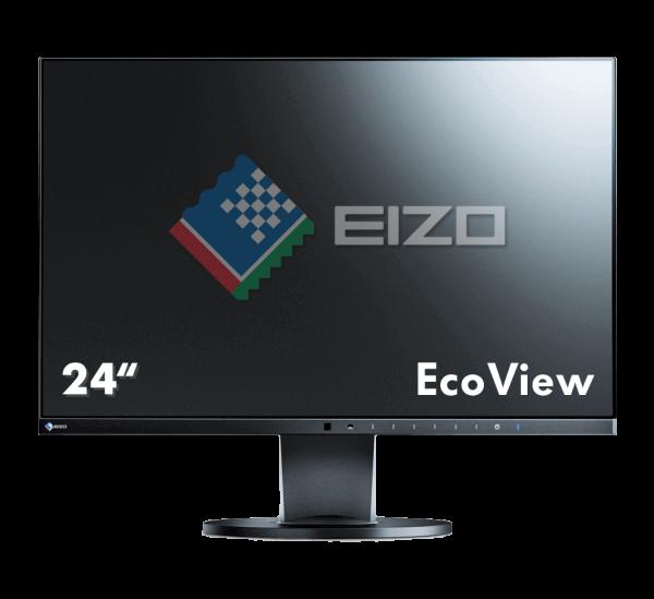 EIZO FlexScan 60.5cm (23.8 Zoll) EV2450-BK | wunderow IT GmbH | lap4worx.de