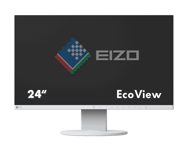 EIZO FlexScan EV2450-WT Monitor | wunderow IT GmbH | lap4worx.de