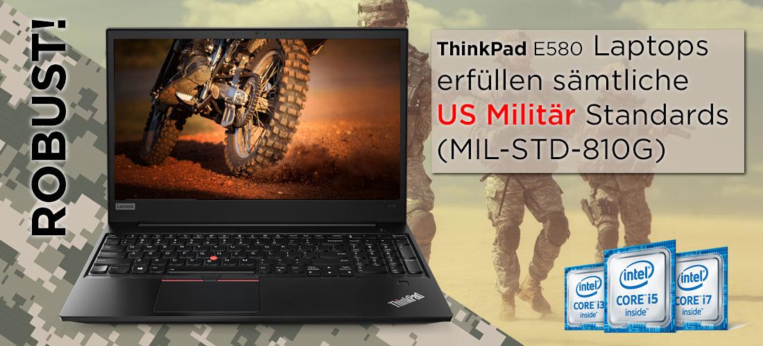 Lenovo ThinkPad E580 fürs Militär sehr robust