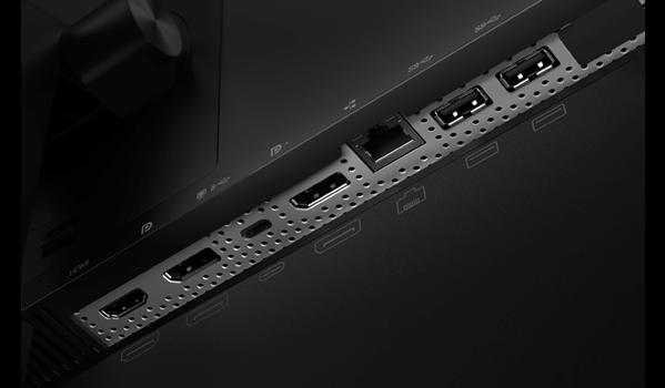 Lenovo ThinkVision T27hv-20 Anschlüsse