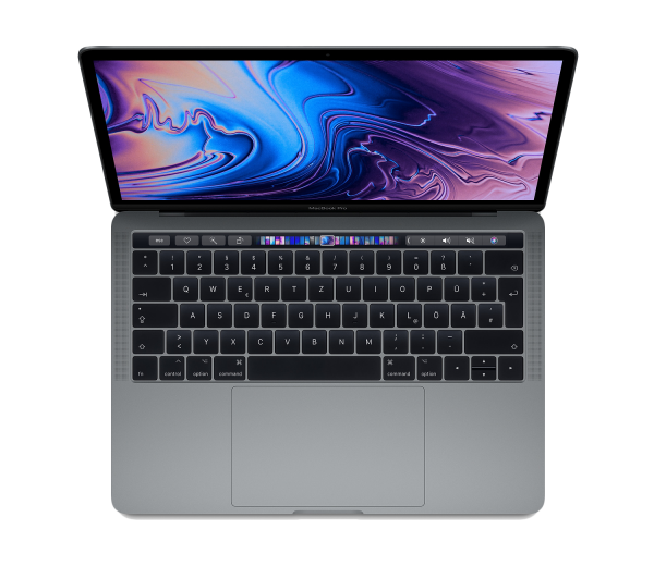 Apple 13 Zoll MacBook Pro Space Grau MV972D/A i5 8GB 512GB SSD Intel Iris Plus Graphics 655 Deutsch