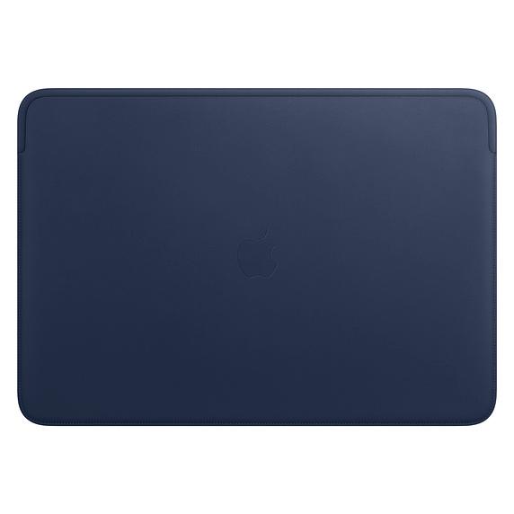 """Apple Lederhülle für 16"""" MacBook Pro Mitternachtsblau MWVC2ZM/A"""