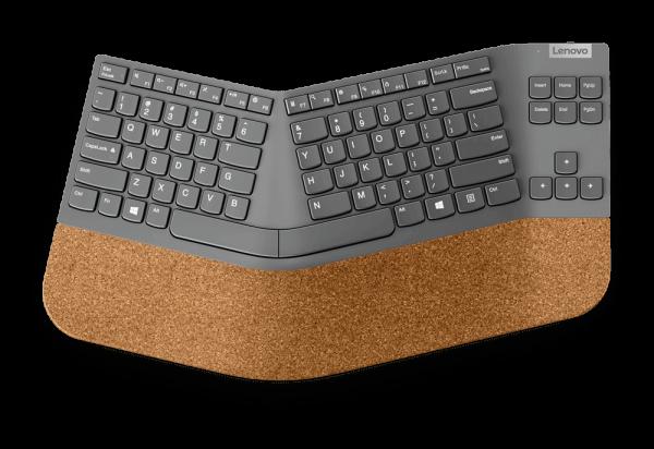 Lenovo Go Wireless Split Tastatur - German 4Y41C33761 | wunderow IT GmbH | lap4worx.de