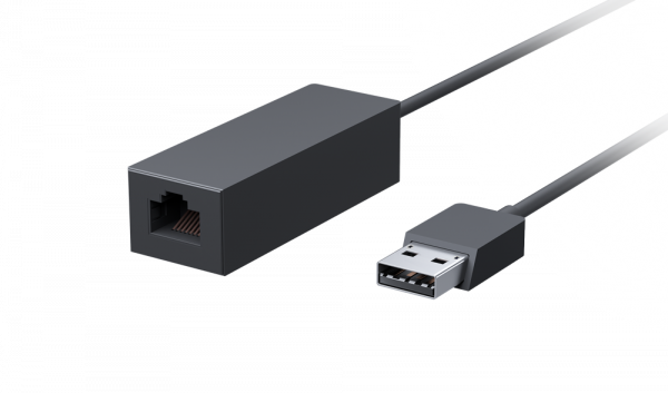 Microsoft Surface USB-A 3.0 auf Ethernet RJ45 Adapter EJS-00004 | wunderow IT GmbH | lap4worx.de