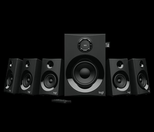 Logitech Z607 5.1 SURROUND SOUND SPEAKER SYSTEM 980-001316 | wunderow IT GmbH | lap4worx.de
