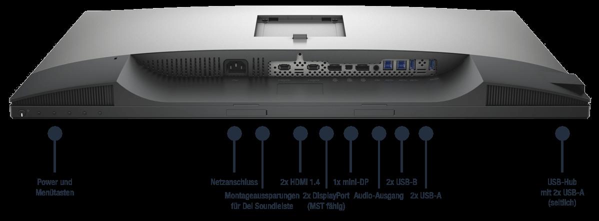 Dell-UltraSharp-UP3017A-Anschlusse