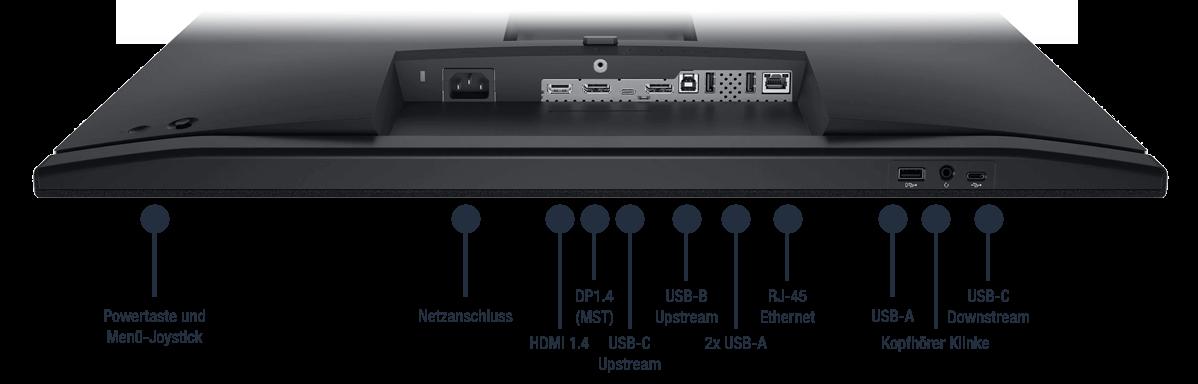 Dell-C2722DE-Anschlusse