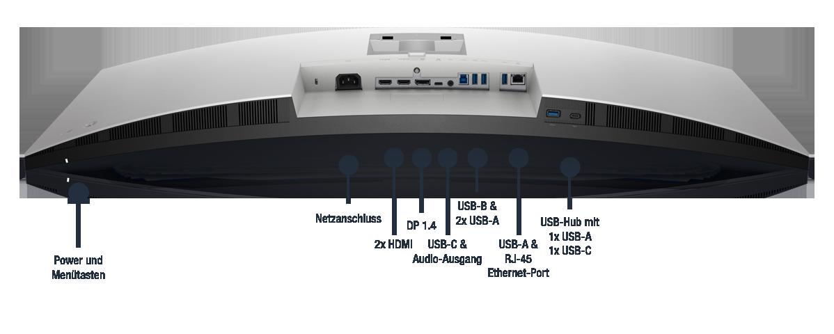 Dell-U3821DW-Anschlusse