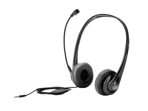 HP Stereo-Headset (3,5 mm) T1A66AA