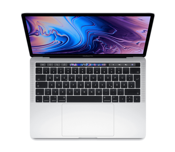 Apple 13 Zoll MacBook Pro Silber MV992D/A i5 8GB 256GB SSD Intel Iris Plus Graphics 655 Deutsch