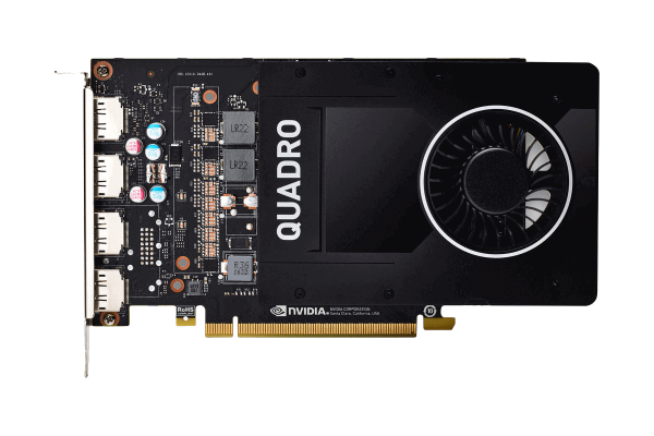 Dell NVIDIA Quadro P2200 5GB GDDR5x 490-BFPN | wunderow IT GmbH | lap4worx.de