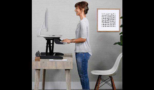 Ergotron WorkFit-Z-Mini Schreibtisch stehend