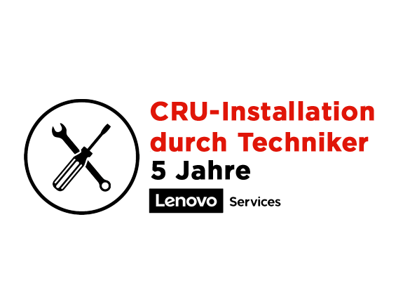 Lenovo 5 Jahre CRU-Installation 5WS0K18172 | wunderow IT GmbH | lap4worx.de
