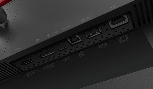 Lenovo ThinkVision P32p-20 Anschlüsse