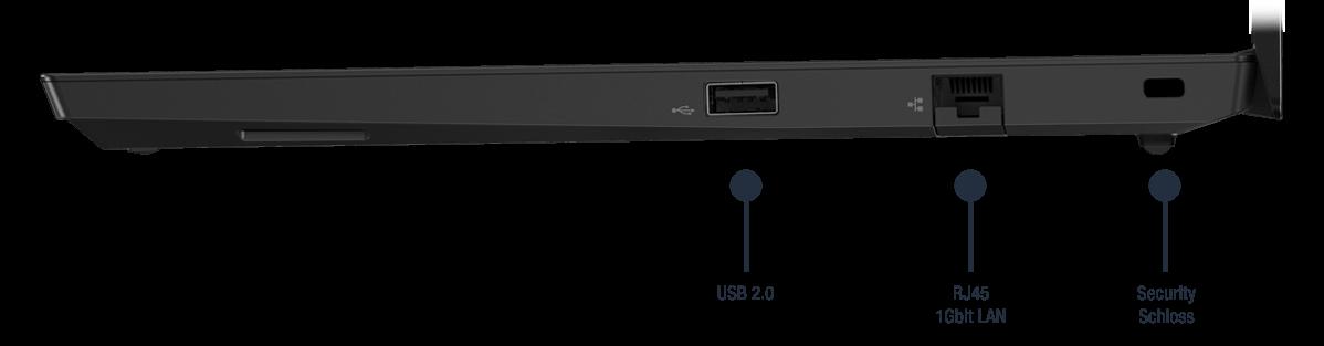 Lenovo ThinkPad E14 Anschlüsse