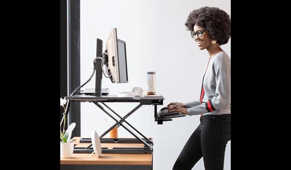 Ergotron WorkFit-TX Schreibtisch stehend